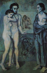 Obras importantes de Picasso La vida