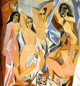 Obras importantes de Picasso - Las senoritas de avignon