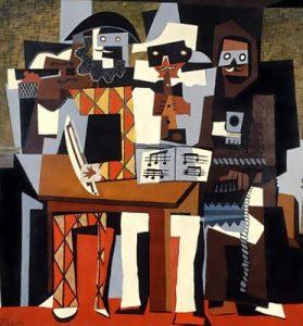 Obras de Picasso - Los 3 musicos