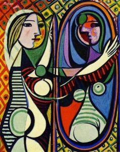 Obras de Picasso - Mujer ante el espejo