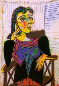 Obras importantes de Picasso - Retrato de Dora Maar
