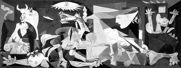 Obras de Picasso - El Guernica