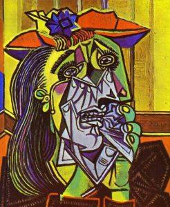 Obras importantes de Picasso - Mujer que llora