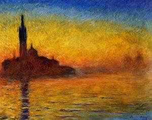 Monet Saint-Georges Majeur au Crépuscule