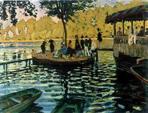 Bain à la Grenouillère 10 Mejores Cuadros de Monet