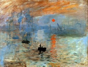 Impression soleil levant- 10 Mejores Cuadros de Monet