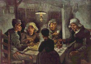 Los Comedores De Patatas Van Gogh