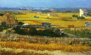 La Cosecha- Van Gogh- 10 obras de arte