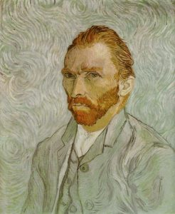Autorretrato-1889- Museo De Orsay Paris
