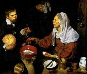 Velazquez - La Vieja Friendo Huevos