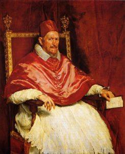 El Retrato de Inocencio X Velazquez