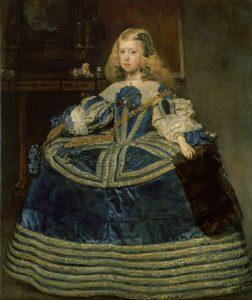 Infanta Margarita Teresa en Azul