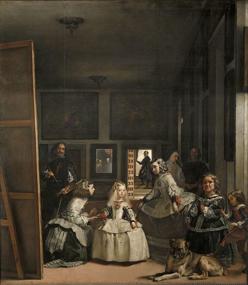 La familia de Felipe IV o Las Meninas velazquez en el museo del prado