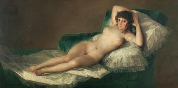 La Maja Desnuda Goya en el Prado