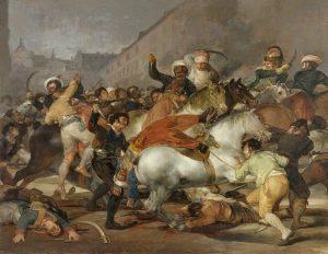 La Carga De Los Mamelucos- 10 mejores cuadros de Goya