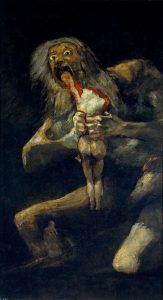 Saturno Devorando a un Hijo Goya 10 obras de arte