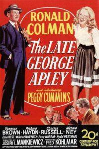 El Universo de George Apley - 10 Mejores Peliculas de Mankiewicz