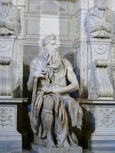 Moisés - Obras de Michelangelo