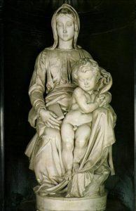 Madonna de Brujas - Obras de Michelangelo