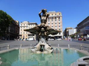 Fuente del Tritón Escultor - Bernini