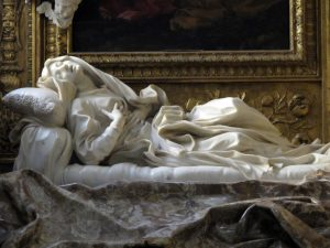 Éxtasis de la Beata Ludovica Albertoni - Escultura