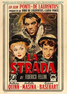 Películas de Fellini La strada