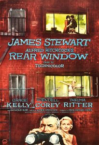 La ventana inscreta - Peliculas de Hitchcock