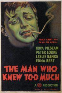 Peliculas de Hitchcock - El hombre que sabia demasiado