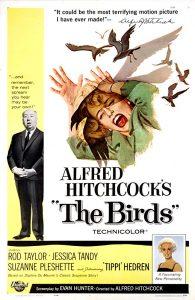 Los  pajaros Hitchcock 10 mejores peliculas