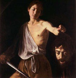 Descargar Obras de Caravaggio Goliat