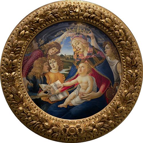 Virgen del Magnificat