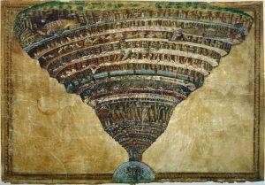 El abismo del infierno Sandro Botticelli