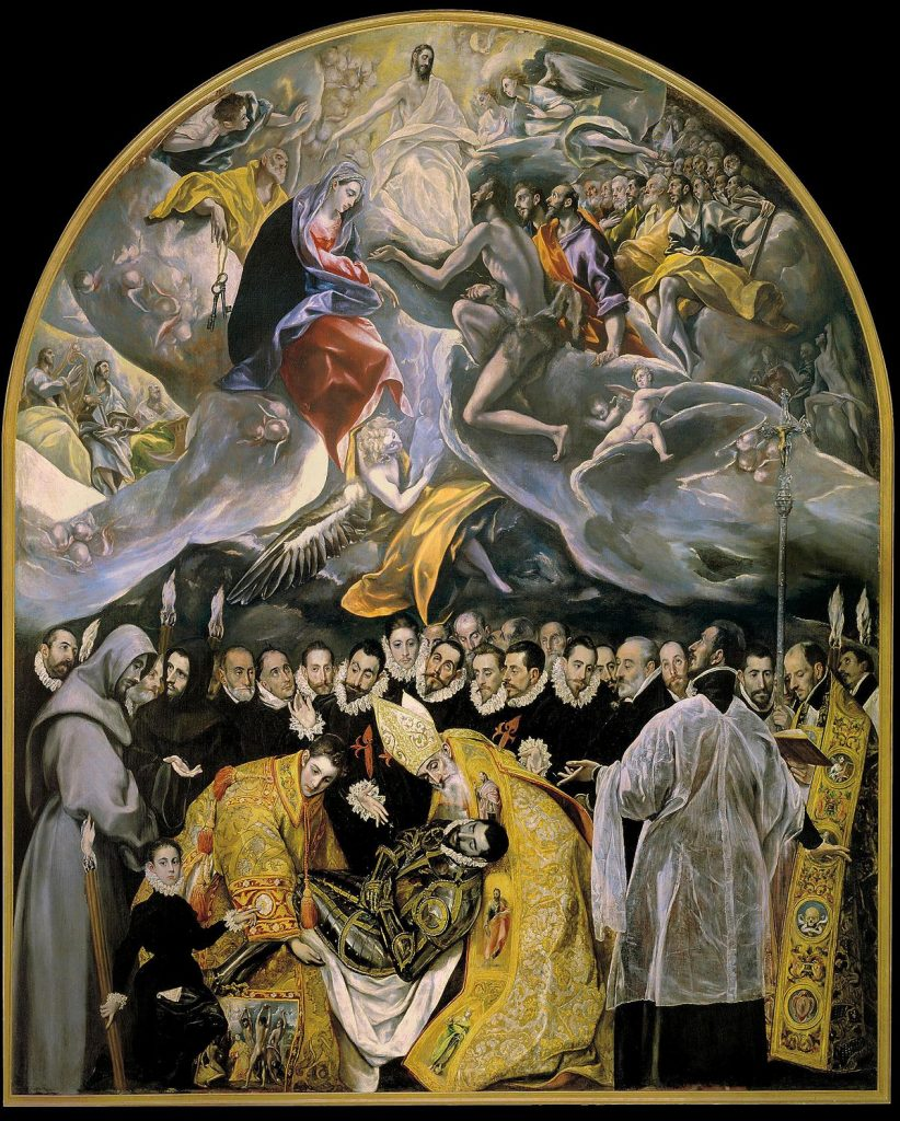 El entierro del conde de orgaz - 10 obras de El Greco