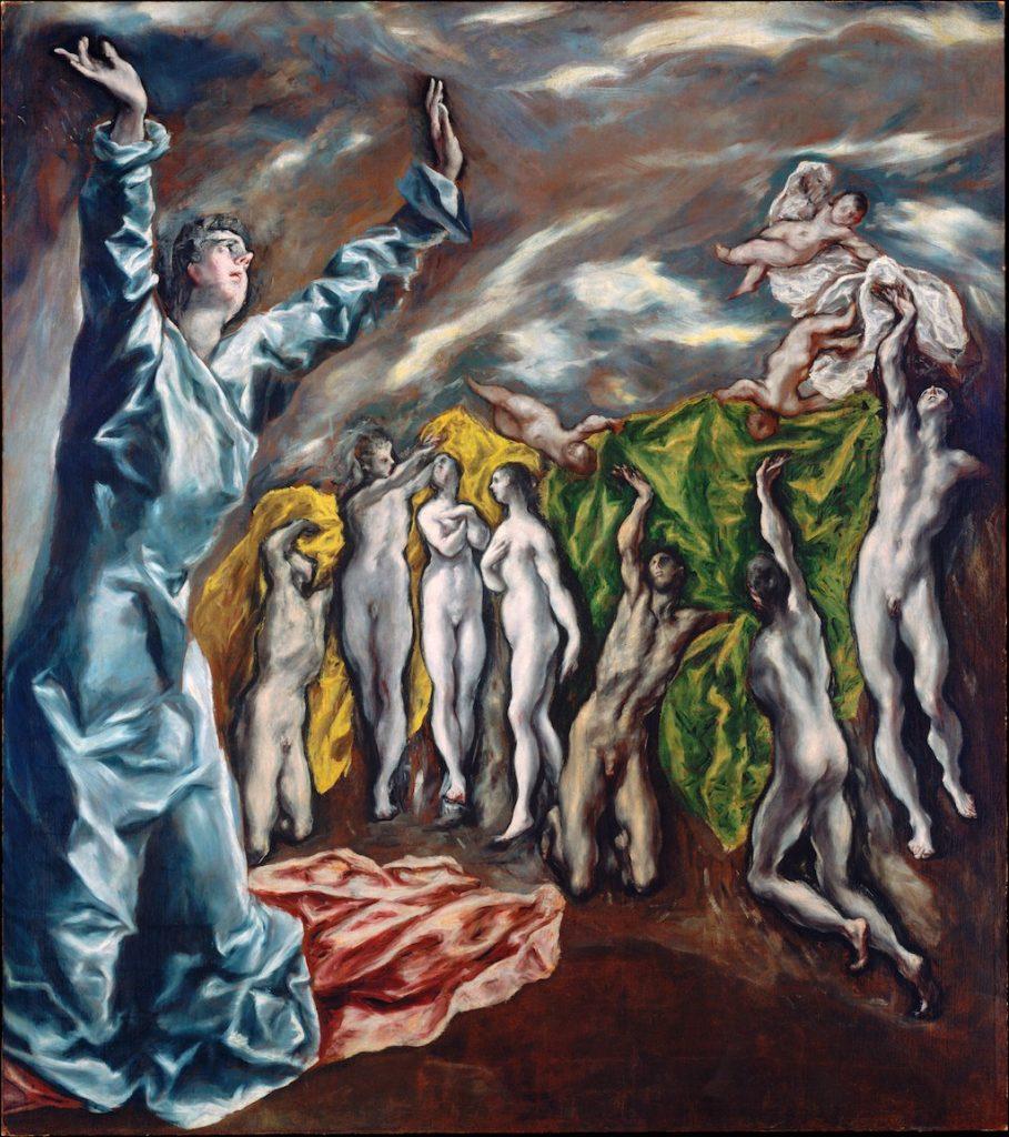 Visión del Apocalipsis El Greco